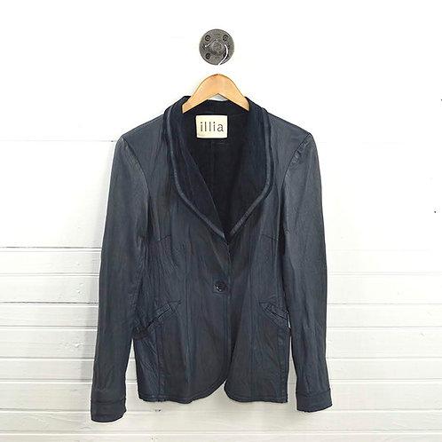 Illia Leather Blazer/ Jacket #161-10
