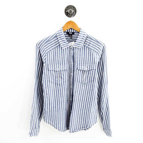 Paige Caldwell Striped Button Down #159-71