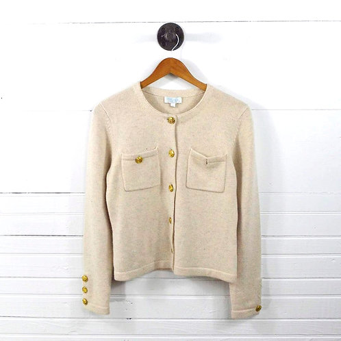 Malika Cashmere Cardigan Sweater #138-81