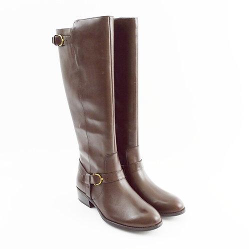 Ralph Lauren Black Leather Boot #172-4