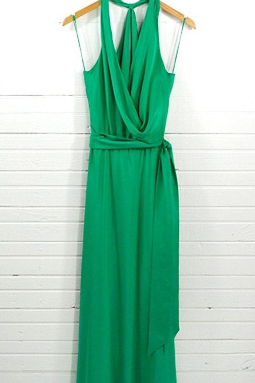 Nicole Miller Silk Evening Gown #135-34