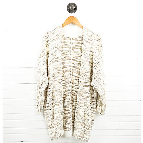 Maje Metallic Knit Cardigan #185-14