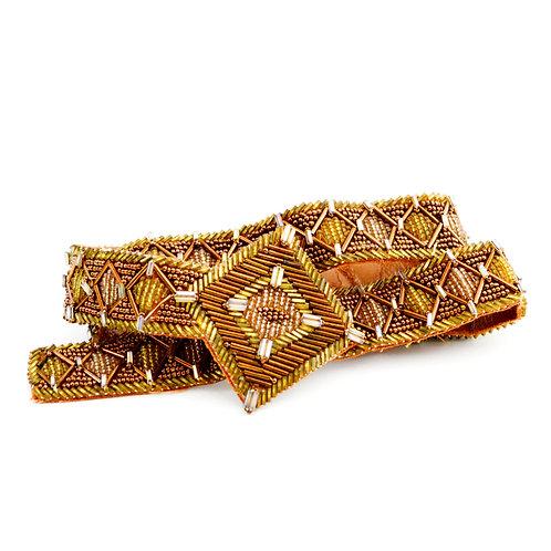 Beaded Waist Belt #170-3081