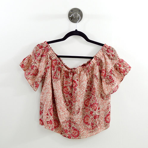 Madewell Off The Shoulder Blouse  #123-1239