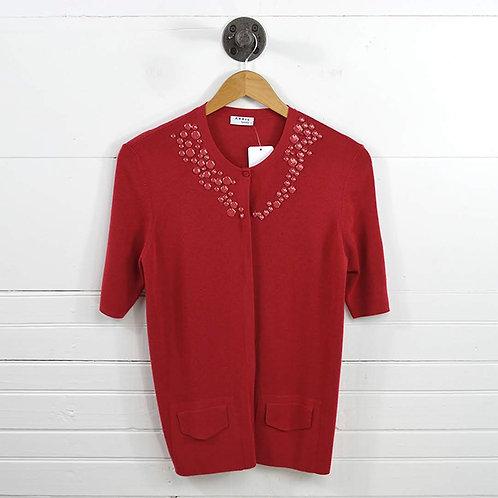 Akris Punto Embellished Cardigan #170-449