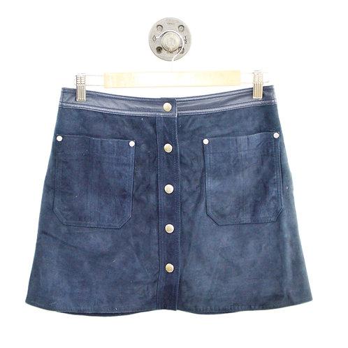 Rag & Bone Siggy Leather Mini Skirt #127-94
