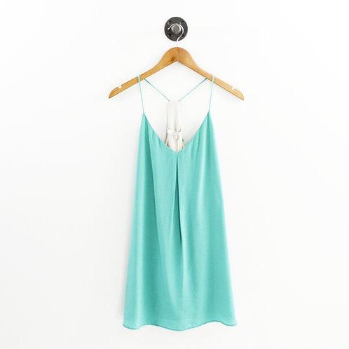 Lavender Brown Silk Dress #192-85