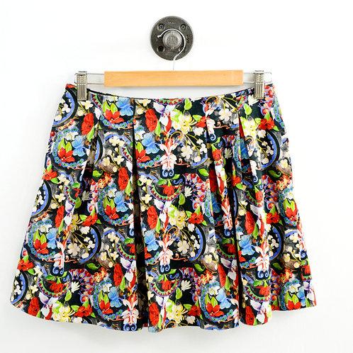 Alice + Olivia Floral Mini Skirt #103-8