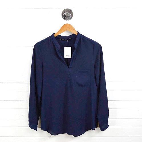 Zara Single Pocket Blouse #129-1445