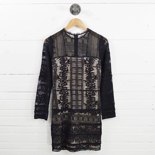 Parker Lace Long Sleeve Dress #101-44
