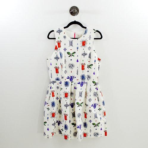 Essentiel Antwerp Rhinestone Print Dress #189-3024