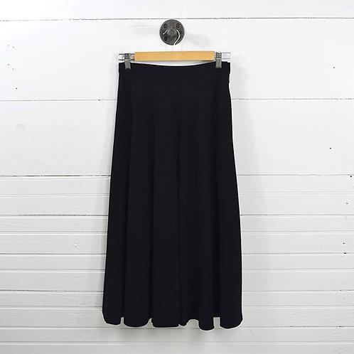 Yves Saint Laurent A-Line Midi Skirt #170-121
