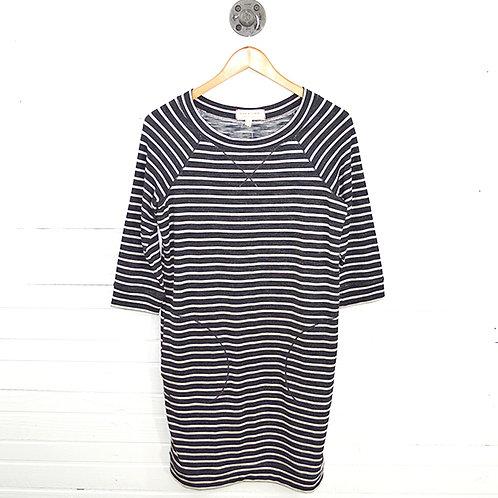 Max Studio Striped Cotton Dress #123-3058