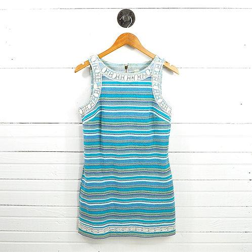 Free People Embellished Trim Dress #150-3094