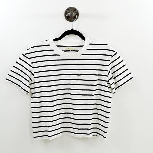 Madewell Striped Single Pocket T-Shirt #123-2088