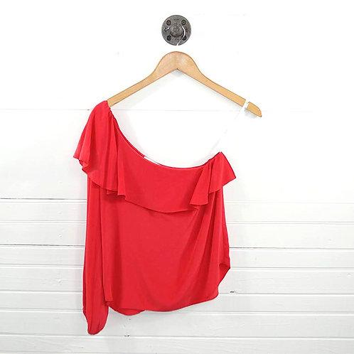 Amanda Uprichard One Shoulder Blouse #185-33
