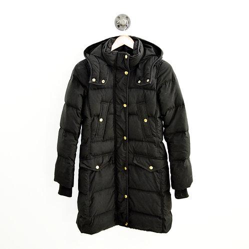 J. Crew Down Hooded Puffer Coat #200-5