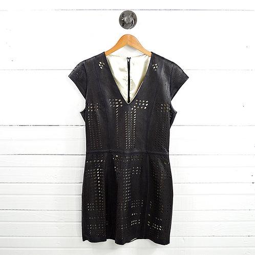 Parker Leather Lazor Cut Dress #177-46