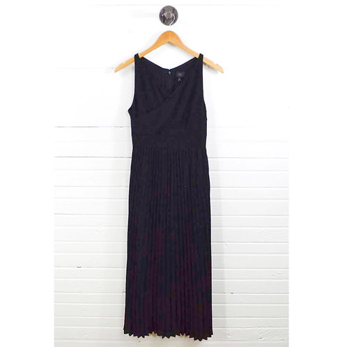 Banana Republic Pleated Maxi Dress #129-1196