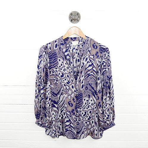 Parker Silk Print Blouse #101-6