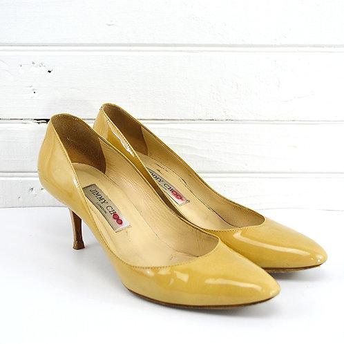 Jimmy Choo Patent Leather Heels #177-10