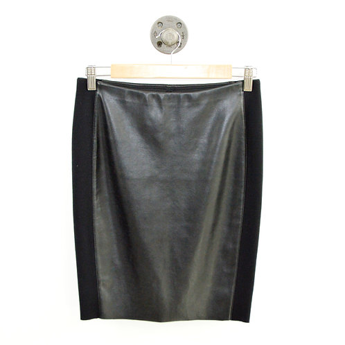 Bailey44 Faux Leather Pencil Skirt #103-5