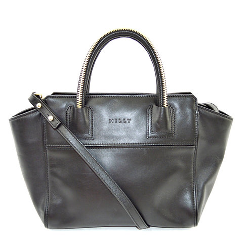 Milly Top Handle Tote Bag #123-368