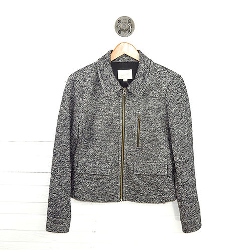 Loft Wool 2 Pocket Zipper Jacket #123-3048