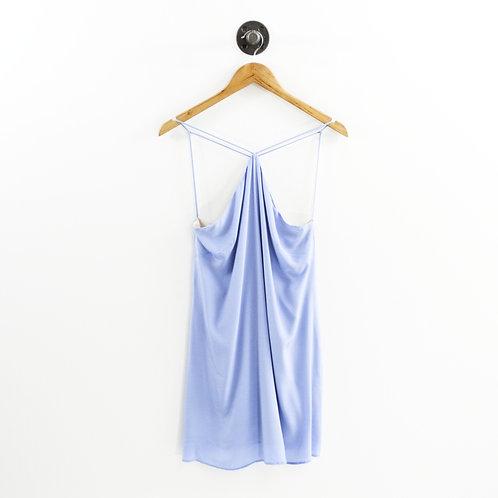 Lavender Brown Silk Dress #192-79