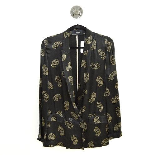 Zara Print Silky Blazer #143-1897