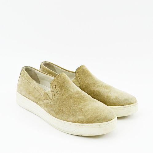 Prada Suede Slip-On Sneaker #169-58