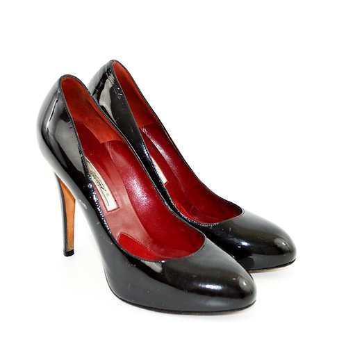 Brian Atwood Patent Leather Pumps #131-183