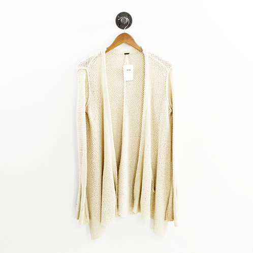 Free People Woven Open Front Cardigan #196-19