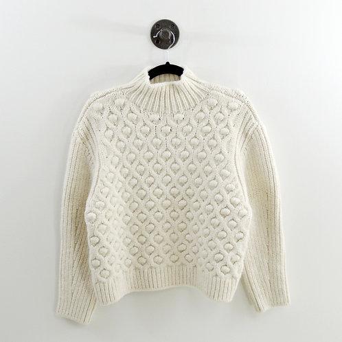 Zara Chunky Knit Turtleneck Sweater  #123-3084