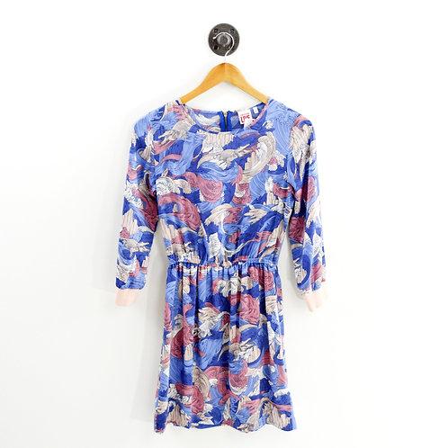 Lacoste L!ve Floral Print Dress #193-4