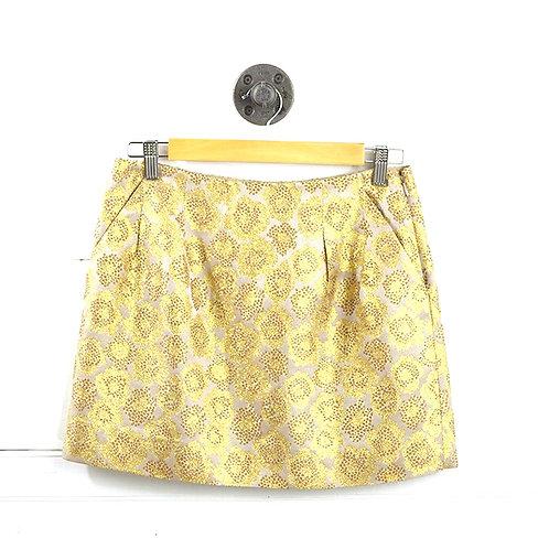 J. Crew Metallic Mini Skirt #137-1682