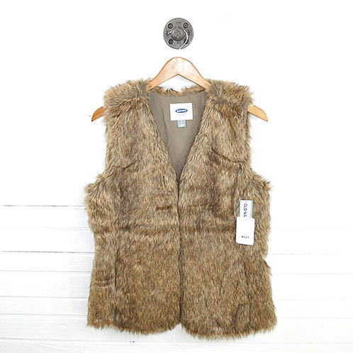 Old Navy Faux Fur Vest #123-3072
