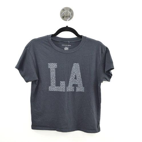 American Eagle Outfitters 'La' Cheetah Print T-Shirt #123-2070