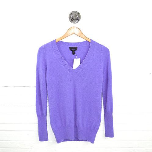J. Crew V- Neck Italian Cashmere Sweater #147-14