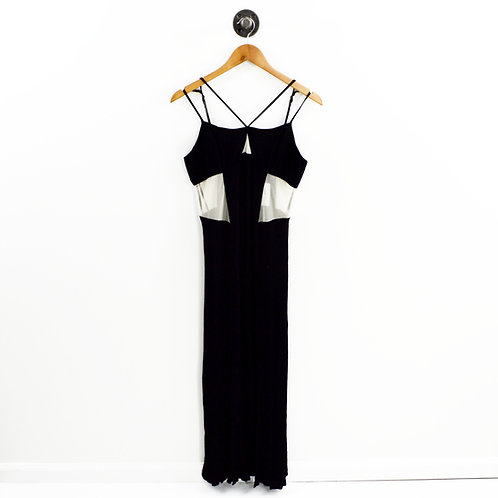 BCBGeneration Mesh Panel Midi Dress #175-44