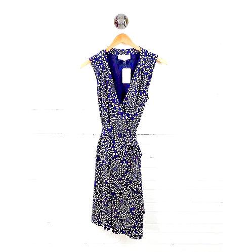 Veronique Pebble Print Wrap Dress #138-37