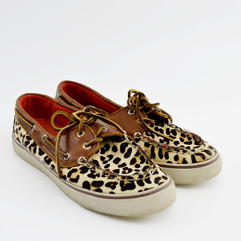 Sperry Leopard Top-Sider #175-2016
