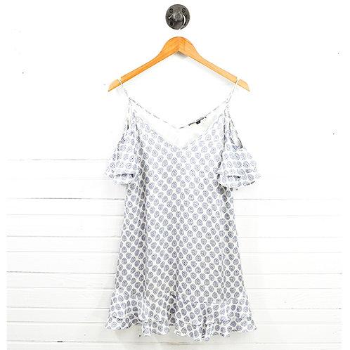 Rachel Zoe Cold Shoulder Print Dress #147-40