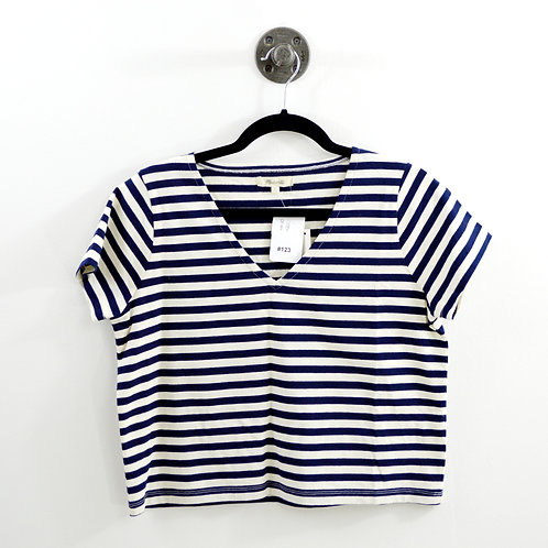 Madewell Striped Crop Top #123-1215