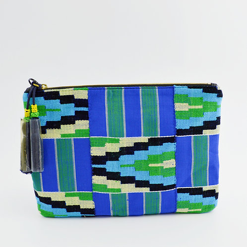 J. Crew Woven Envelope Clutch Bag #123-3067