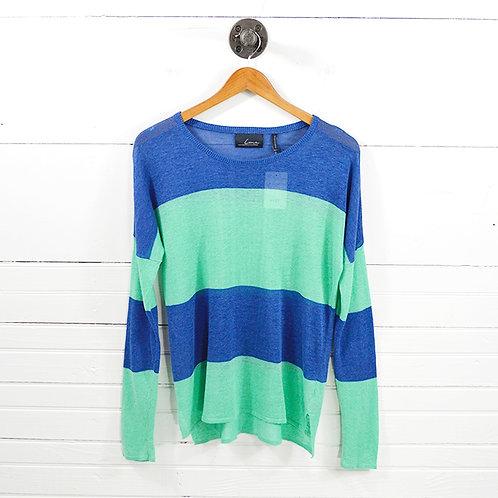Line Striped Knit Top #127-25