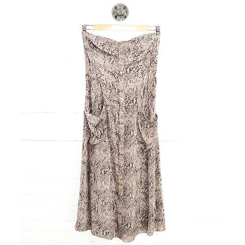 Rebecca Taylor Snake Skin Print Dress #185-25