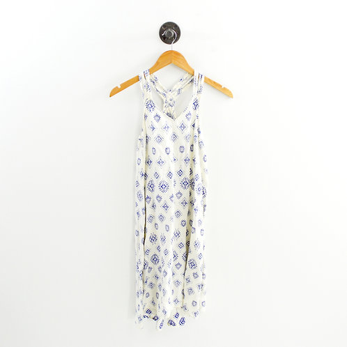 Artisan NY Linen Print Dress #193-1980