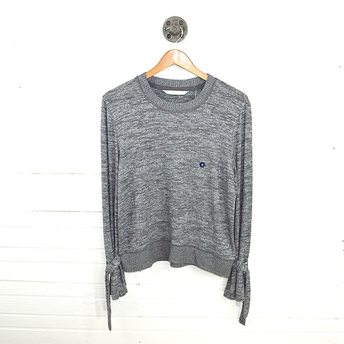 Abercrombie & Fitch Tie Cuffs Long Sleeve Top #106-1002