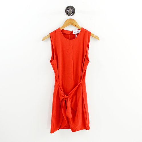 Line + Dot Tie Waist Dress #192-27